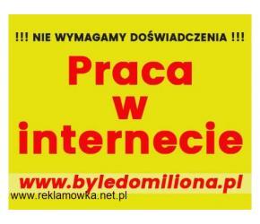 LEGALNA praca w INTERNECIE  / Praca DODATKOWA