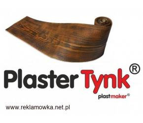 HIT deska elewacyjna elastyczna okładzina PlasterTynk imitacja drewna na elewację