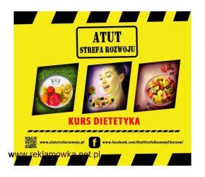 """Kurs """"Dietetyki"""" 8 godzinny w ATUT Strefa Rozwoju Chorzów !"""