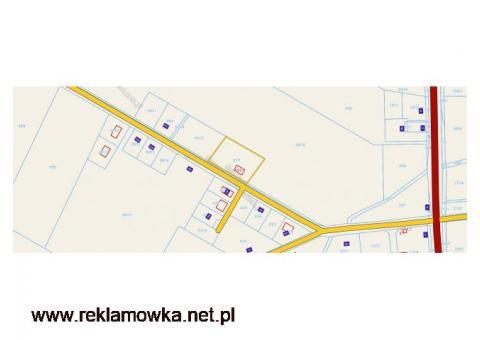 Atrakcyjna działka w Bogdanowie pod Obornikami