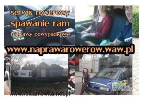 Profesjonalna Naprawa Warszawa,Konstancin/ Serwis Rowerów Józefosław,Kierszek