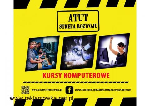Kursy komputerowe dla każdego w ATUT Strefa Rozwoju Chorzów !