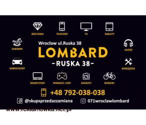 Skup/sprzedaż konsol PS4, PS3, Xbox One... Lombard RUSKA 38