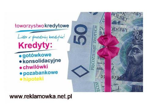 Kredyty firmowe. indywidualne do 500 tys