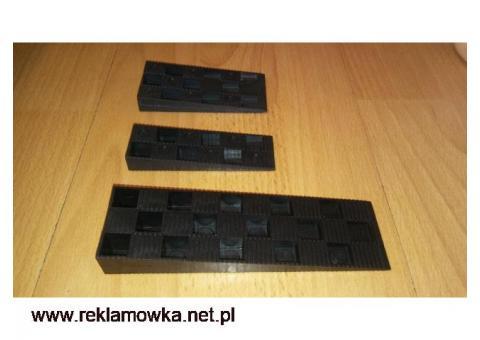 Kliny PCV okna kliny dylatacyjne podkładki podłoga WYSYŁKA