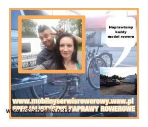 Rowery górskie,miejskie,naprawa rowerów, mobilny serwis SPECJALISTYCZNE NAPRAWY ROWEROWE