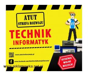 Technik Informatyk w ATUT Strefa Rozwoju Chorzów !