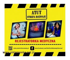 """Kurs """" Rejestratorki Medycznej"""" w ATUT Strefa Rozwoju Chorzów!"""