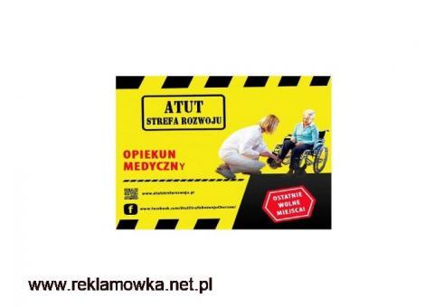 Bezpłatny, roczny kierunek Opiekun Medyczny w ATUT Strefa Rozwoju Chorzow !