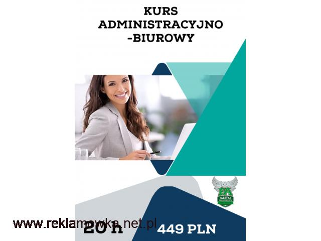 Kurs administracyjno-biurowy - 1/1