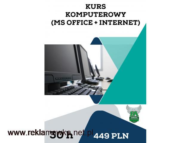 Kurs komputerowy (MS Office + Internet) - 1/1