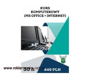 Kurs komputerowy (MS Office + Internet)