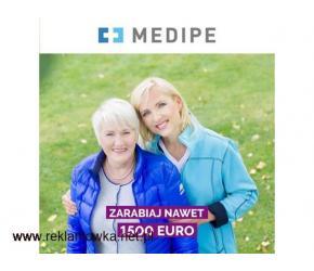 praca w Niemczech opieka Preetz 1350 EURO  / Zlecenie dla Opiekunki do mobilnego Seniora