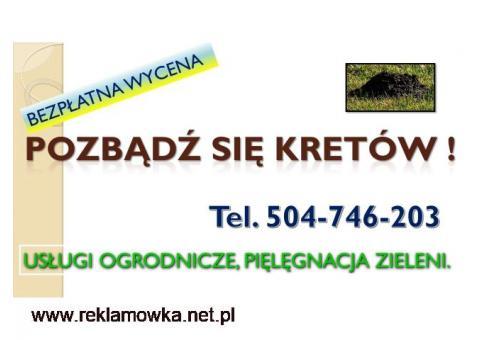 Skuteczna metoda na krety, tel. 504-746-203. Zwalczanie kretów,Wrocław.cena,Firma zwalczająca krety