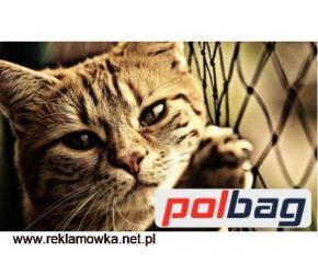 Siatka ze sznurka dla kota na okna do zabezpieczeń
