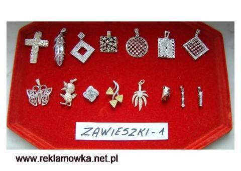 Zawieszki wisiorki srebro 925 kolekcja 1 i 2 wyprzedaż