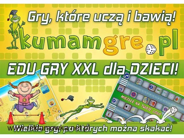 SUPER GRY XXL dla DZIECI - mega wielki format do skakania wielkie GRY XXL - 1/1