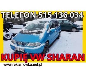 Skup VW SHaran Pilnie Kupię