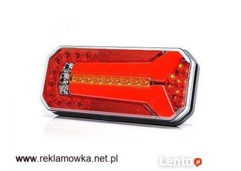 Lampa LED zespolona tylna 4 funkcje