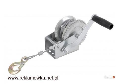 Wyciągarka linowa ręczna z korbką 1500kg