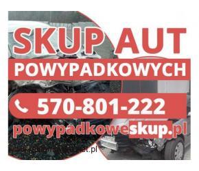 Samochody powypadkowe kupię - Skup samochodów uszkodzonych,aut popsutych