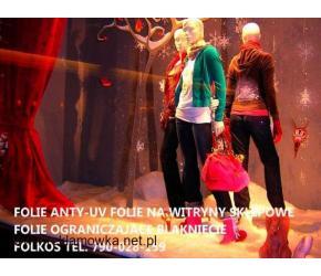 Folie antyuv -Folie przeciwko promieniowaniu UV Warszawa Folie ultrafioletowe