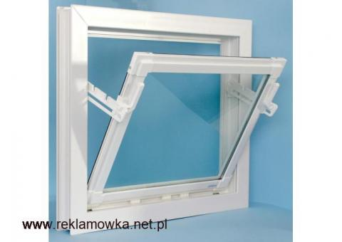 okna pcv do obory chlewni stajni kurnika budynek inwentarski