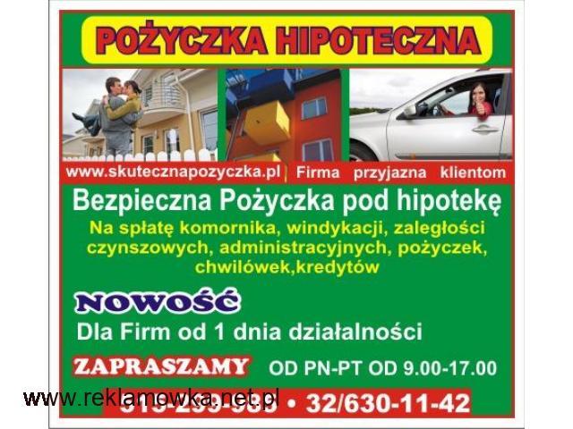 BEZPIECZNA POŻYCZKA HIPOTECZNA BEZ BIK - 1/1