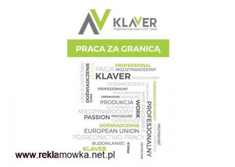 BEZ WIEKÓWKI -300m DO PRACY! PRACA W SZKLARNI PRZY PLANTACH! - HOLANDIA