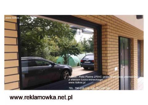 Folia przeciwsłoneczna zewnetrzna IR odrzucone 70%, UV odrz.99%, red.raźenia słonecz 68% Warszawa