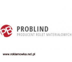 Rolety materiałowe na wymiar - problind.pl