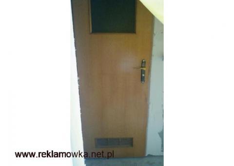 drzwi używane drewniane wewnętrzne z futryną drewnianą