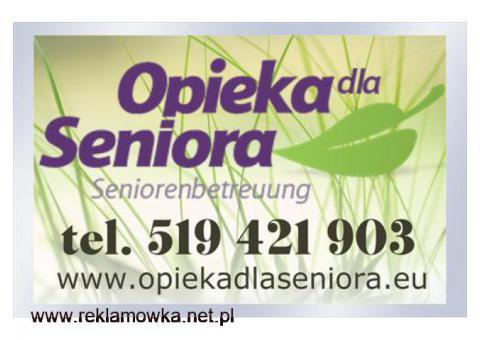 Praca jako opiekunka osób starszych
