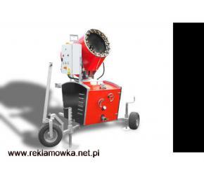 Maszyna do zraszania pyłu, urządzenie do zraszania pyłu