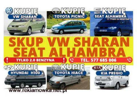 SKUP vw SHARAN KUPIĘ alhambra 2.0 cała POLSKA i INNE zobacz