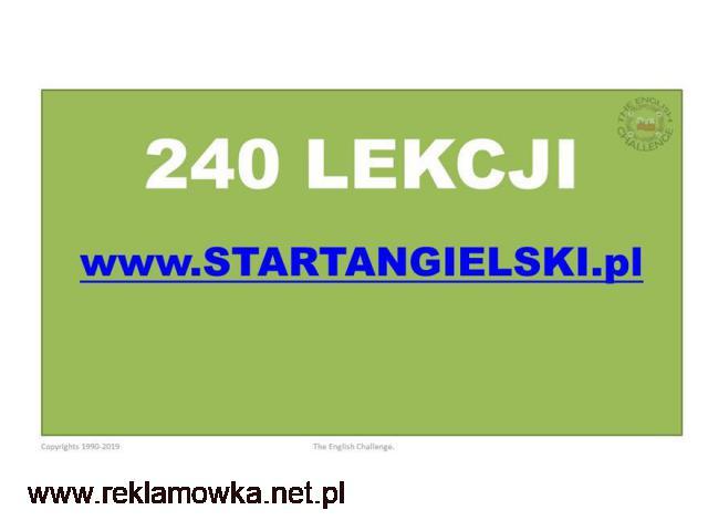 240 lekcji angielskiego na STARTANGIELSKI.PL - 1/1
