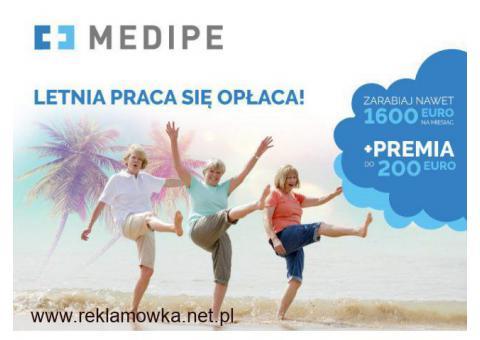 Zlecenie za 1460 EURO miesiąc + PREMIA 200 w BERLINIE dla Opiekunki lub Opiekuna