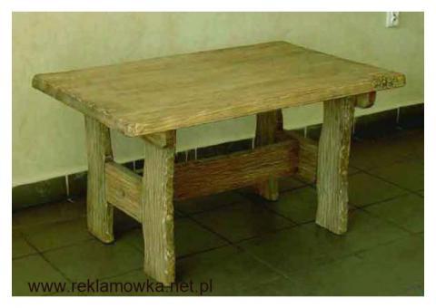 OKAZJA - Ręcznie rzeźbiony stolik kawowy