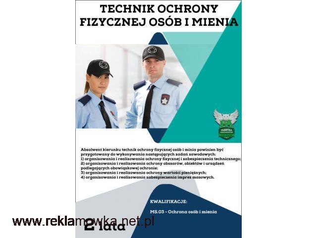 Technik ochrony fizycznej osób i mienia! bezpłatnie! Lublin! - 1/1