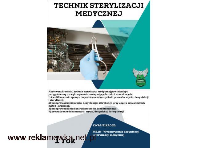Technik sterylizacji medycznej! bezpłatnie! Lublin! - 1/1