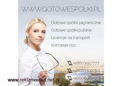Gotowe Fundacje, Gotowa Spółka Niemieckia, Bułgarskie, Czeskie