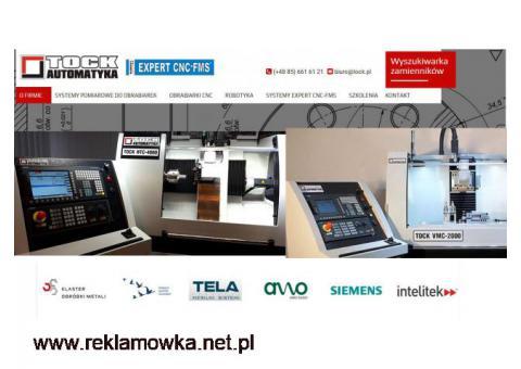 DOSTAWY KOMPLETNYCH PRACOWNI CNC SZKOLENIA EXPERT TOCK-AUTOMATYKA BIAŁYSTOK