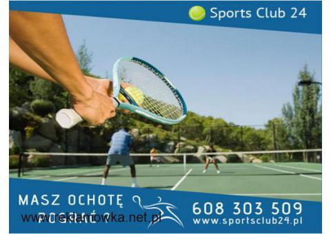 Trener tenisa z Warszawy