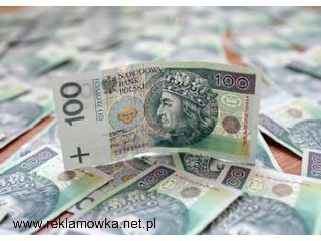 Kredyt gotówkowy bez zdolności kredytowej! - 1/1