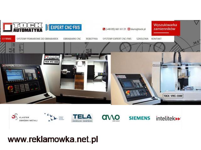 SZKOLENIOWE OBRABIARKI CNC STEROWANIE SINUMERIK 828D TOCK-AUTOMATYKA - 1/1