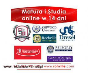 Matura i Studia online w 14 dni
