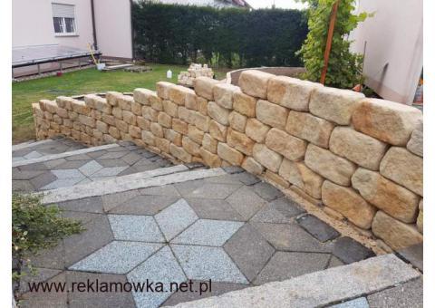 Kamień ogrodowy na skalniak murki skarpy dekoracyjny