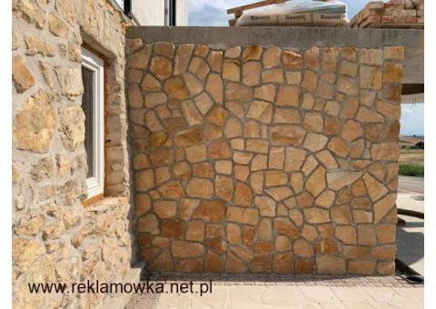 Płytki elewacyjne na elewacje kamień dekoracyjny piaskowiec