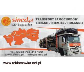 Tanie transportowanie samochodów/ aut z Belgii / z Niemiec / z Holandii