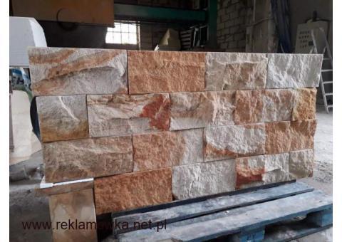 Kamień dekoracyjny elewacyjny płytki na elewację ścianę